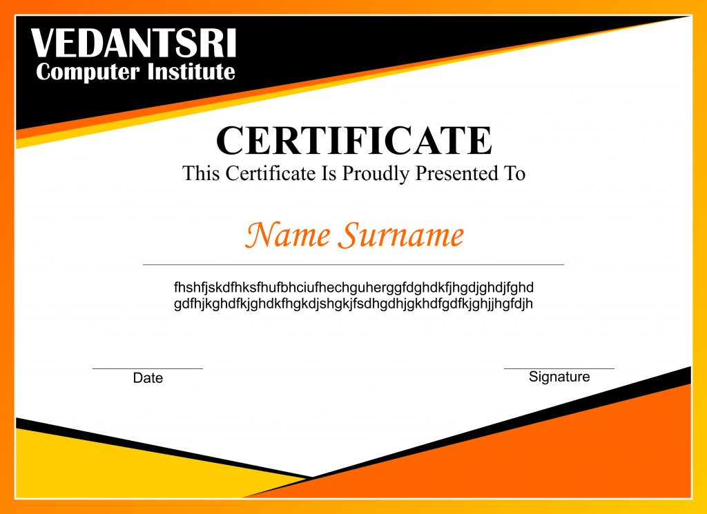 CorelDraw Design Certificate Project by VedantSri Varanasi