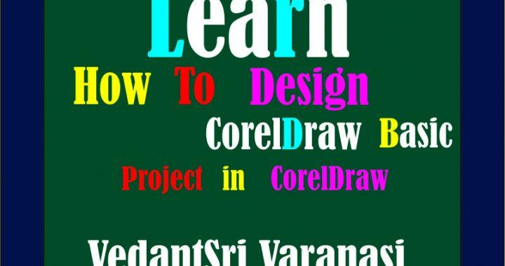 CorelDraw Basic Design Project