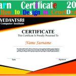CorelDraw Design Certificate Project