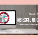 MS-Excel Increase Decrease Height-Width