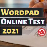 Wordpad Online Test 2021
