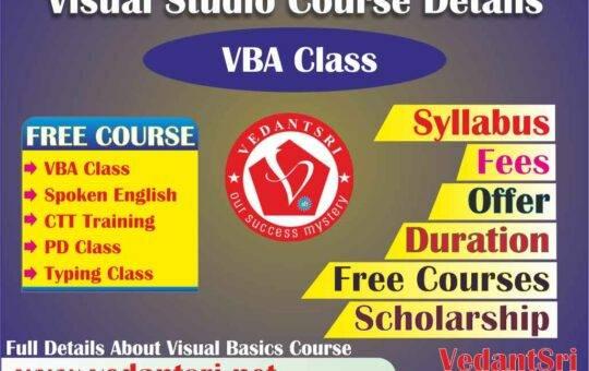 Visual Studio Course Details, Fees, Duration, Scope, Syllabus, Admission, Institutes & Jobs